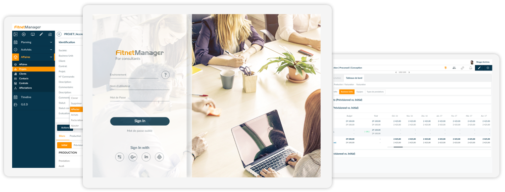 Fitnet Manager Solution ERP SaaS