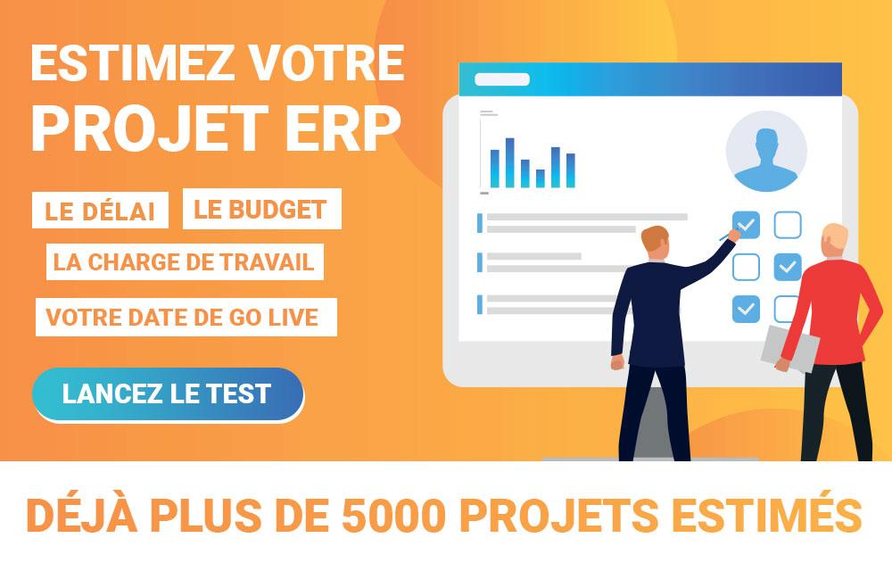 Estimation projet ERP SaaS