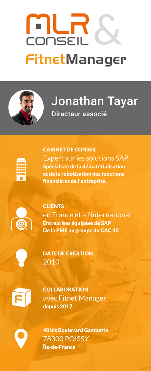 Collaboration MLR Conseil et Fitnet Manager
