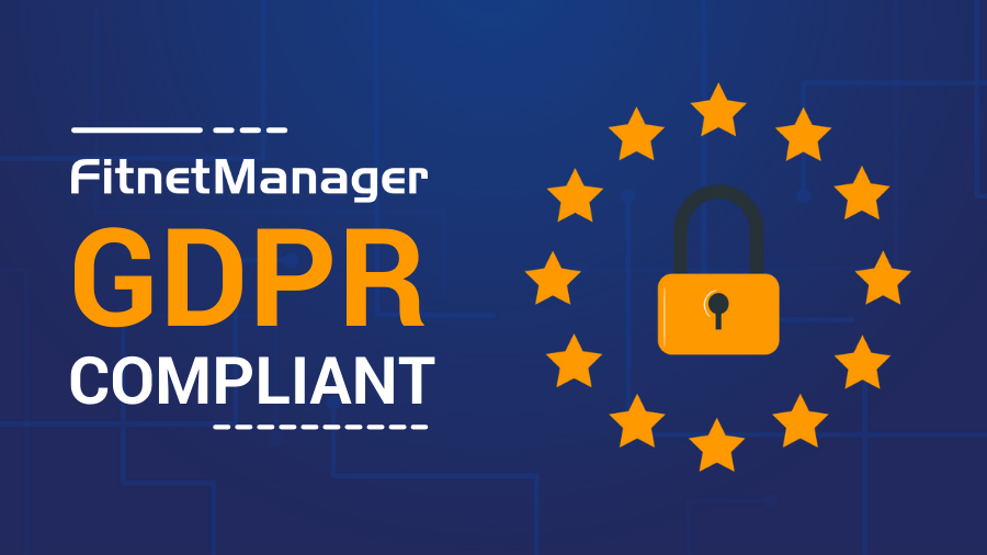 Fitnet Manager GDPR compliant